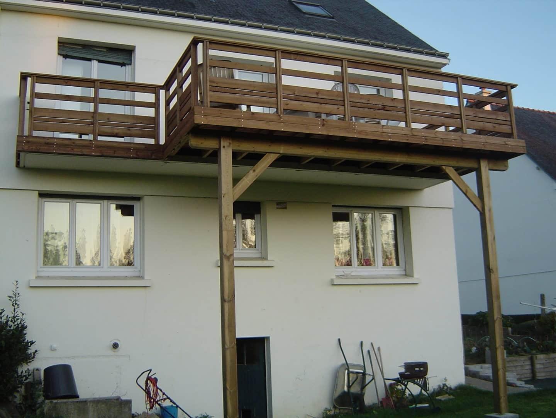 Extension de balcon - Terrasses en hauteur
