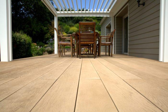 Millboard Chene dore - Terrasses au sol