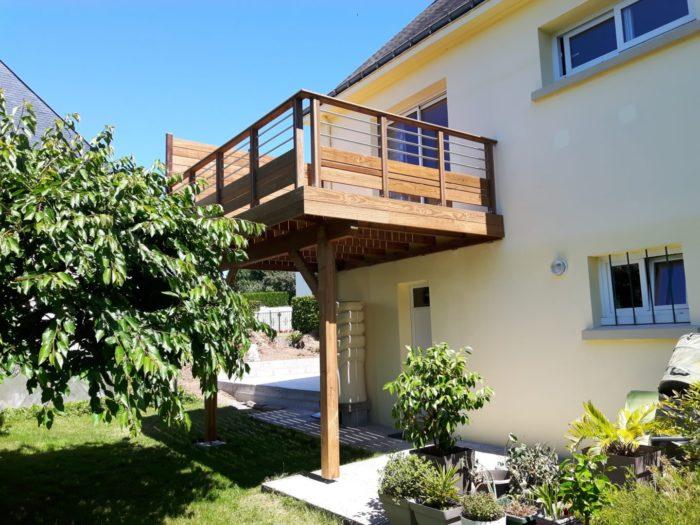 Terrasse sur poteaux 5 - Terrasses en hauteur