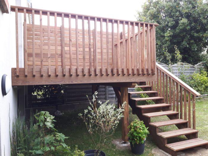 Terrasse sur poteaux 6 - Terrasses en hauteur