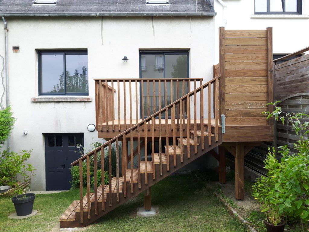Terrasse sur poteaux 7 - Terrasses en hauteur