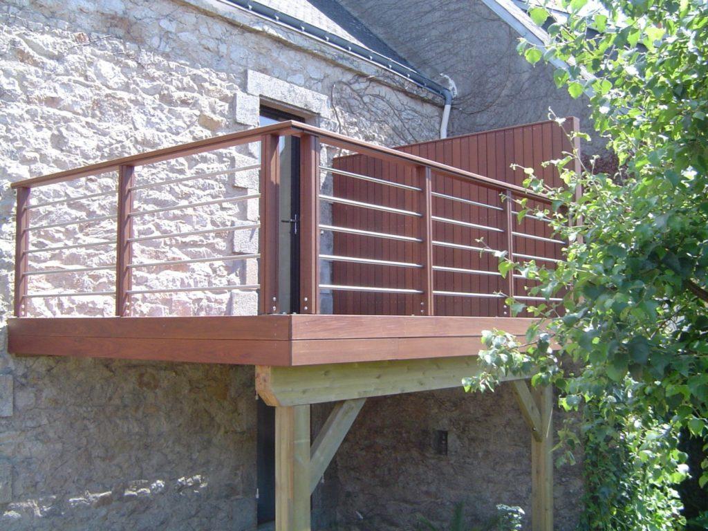Terrasse sur poteaux 9 - Terrasses en hauteur