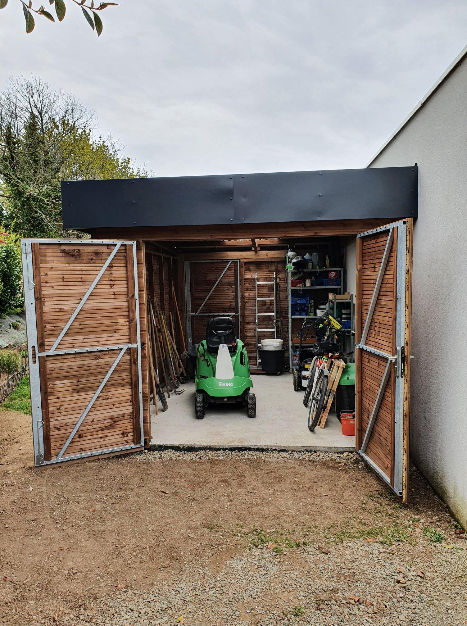1626336155 750 Realisation dun abri sur mesure Realisation de l - Réalisation d'un abri sur mesure. Réalisation de l...