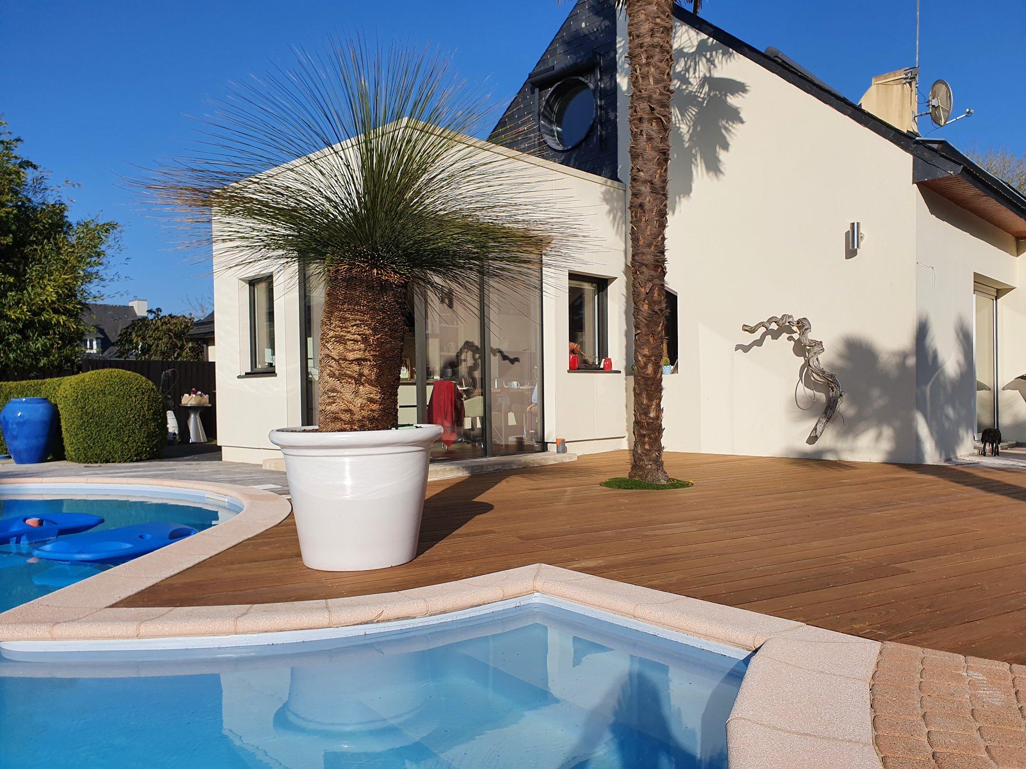 1626336338 331 Realisation dune terrasse en Ipe posee sur plots - Réalisation d'une terrasse en Ipé posée sur plots ...